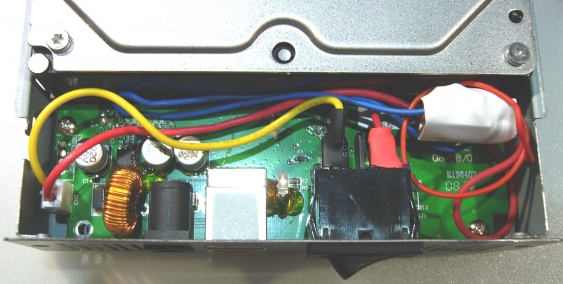 mounting into drive enclosure