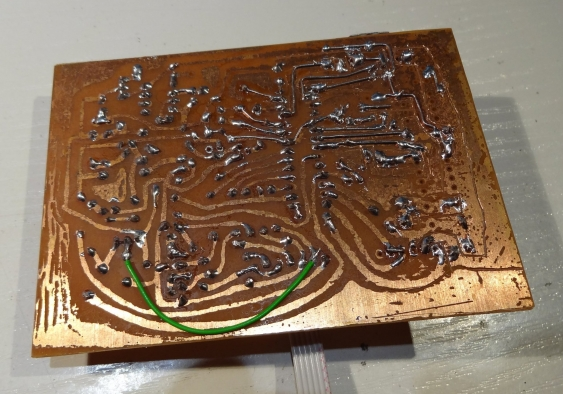 Reworked PCB