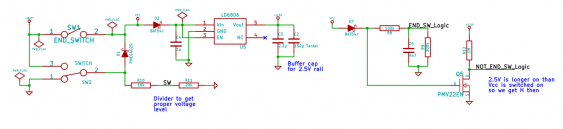 schematic for power supply and switches