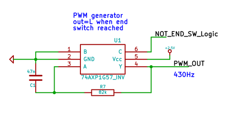 schematic for PWM generator